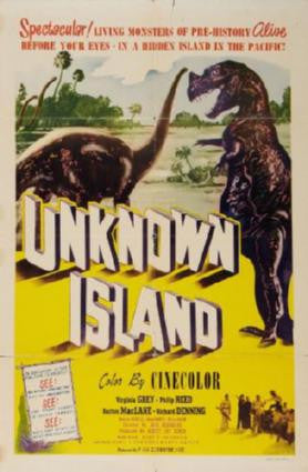 Unknown Island Movie Poster 24in x 36in - Fame Collectibles