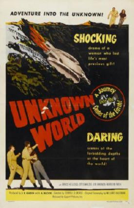 Unknown World Movie Poster 24in x 36in - Fame Collectibles