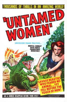 Untamed Women Movie Poster 24x36 - Fame Collectibles