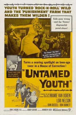 Untamed Youth Movie Poster 24x36 - Fame Collectibles