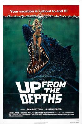 Up From The Depths Movie Poster 24x36 - Fame Collectibles