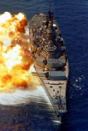 Uss Iowa Poster 24in x 36in - Fame Collectibles