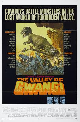 Valley Of Gwangi The Movie Poster 24x36 - Fame Collectibles