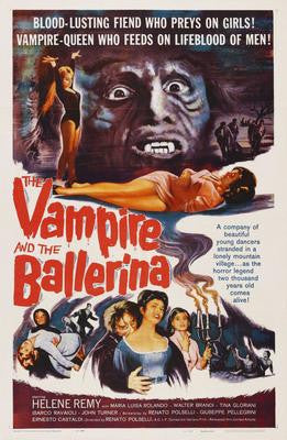 Vampire And The Ballerina The Movie Poster 24x36 - Fame Collectibles