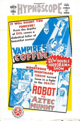 Vampires Coffin Movie Poster 24x36 - Fame Collectibles