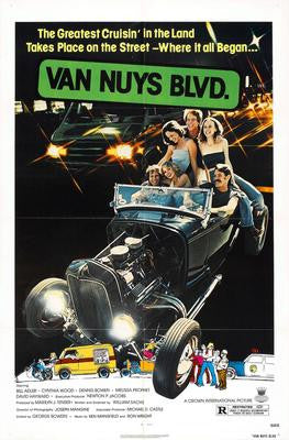 Van Nuys Blvd Movie Poster 24x36 - Fame Collectibles