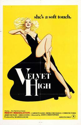 Velvet High Movie Poster 24x36 - Fame Collectibles