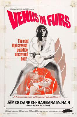 Venus In Furs Movie Poster 24x36 - Fame Collectibles