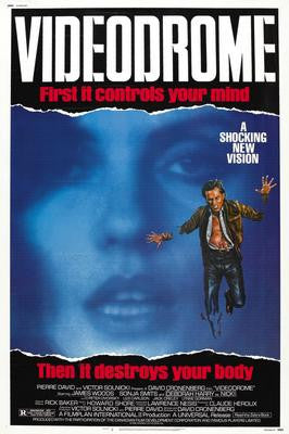 Videodrome Movie Poster 24x36 - Fame Collectibles
