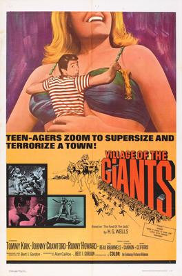 Village Of The Giants Movie Poster 24x36 - Fame Collectibles