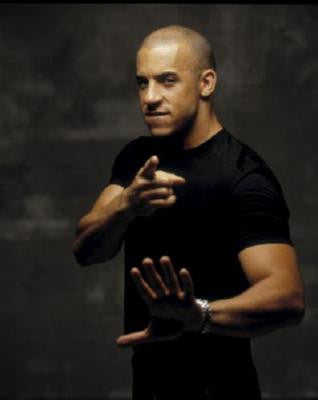 Vin Diesel Poster 24in x 36in - Fame Collectibles