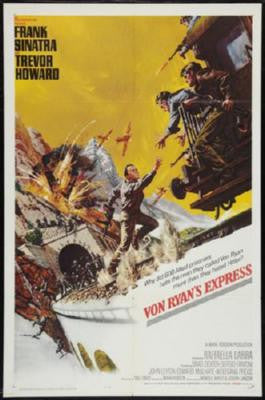 Von Ryans Express Poster 24inx36in - Fame Collectibles