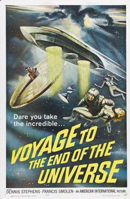 Voyage To The End Of The Universe Movie Poster 24x36 - Fame Collectibles
