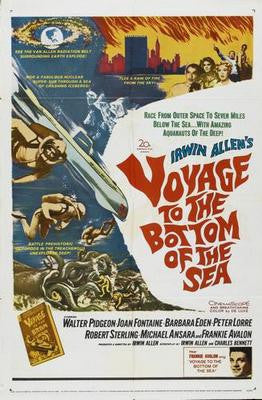 Voyage To The Bottom Of The Sea Movie Poster 24x36 - Fame Collectibles