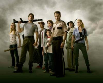 Walking Dead Cast Poster 24in x 36in - Fame Collectibles