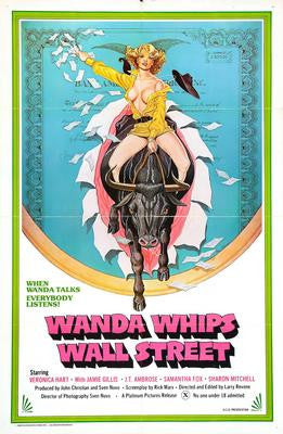 Wanda Whips Wall Street Movie Poster 24x36 - Fame Collectibles