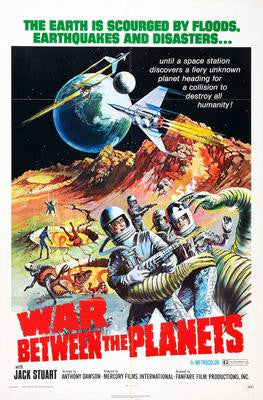 War Between The Planets Movie Poster 24x36 - Fame Collectibles