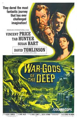 War Gods Of The Deep Movie Poster 24x36 - Fame Collectibles