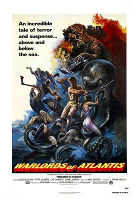 Warlords Of Atlantis Movie Poster 24x36 - Fame Collectibles