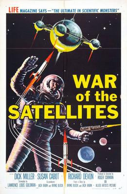 War Of The Satellites Movie Poster 24x36 - Fame Collectibles