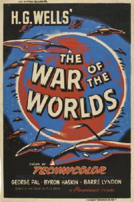 War Of The Worlds Poster 24inx36in - Fame Collectibles