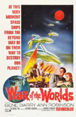 War Of The Worlds Movie Poster 24in x 36in - Fame Collectibles