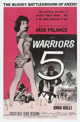 Warriors Five 5 Movie Poster 24x36 - Fame Collectibles