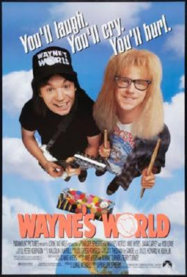 Waynes World Movie Poster 24in x 36in - Fame Collectibles