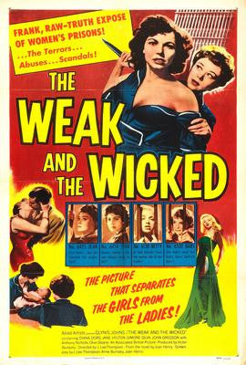 Weak And The Wicked The Movie Poster 24x36 - Fame Collectibles