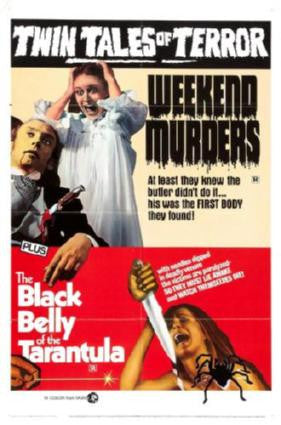 Weekend Murders Combo Movie Poster 24in x 36in - Fame Collectibles