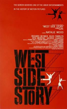 West Side Story Movie Poster 24x36 - Fame Collectibles