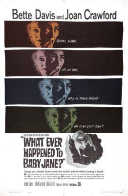 Whatever Happened To Baby Jane Movie Poster 24x36 - Fame Collectibles