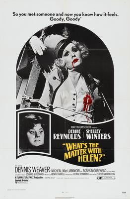 Whats The Matter With Helen Movie Poster 24x36 - Fame Collectibles