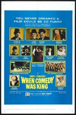 When Comedy Was King Poster 24inx36in - Fame Collectibles