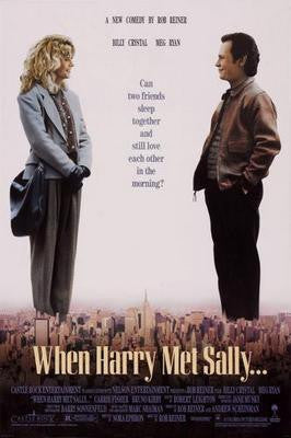 When Harry Met Sally Movie Poster 24x36 - Fame Collectibles