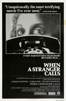 When A Stranger Calls Movie Poster 24x36 - Fame Collectibles