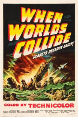When Worlds Collide Movie Poster 24in x 36in - Fame Collectibles