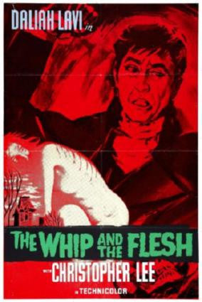 Whip And The Flesh Movie Poster 24in x 36in - Fame Collectibles