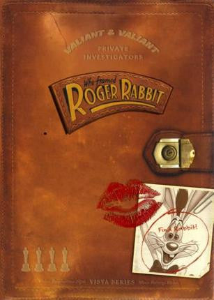 Who framed Roger Rabbit Movie Poster Kiss 24x36 - Fame Collectibles