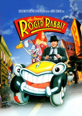 Who framed Roger Rabbit Movie Poster 24x36 - Fame Collectibles