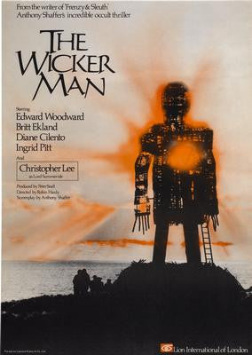Wickerman The Movie Poster 24x36 - Fame Collectibles