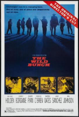 Wild Bunch The Movie Poster 24in x 36in - Fame Collectibles