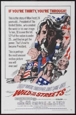 Wild In The Streets Movie Poster 24in x 36in - Fame Collectibles