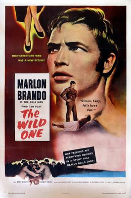 Wild One The Marlon Brando Movie Poster 24x36 - Fame Collectibles