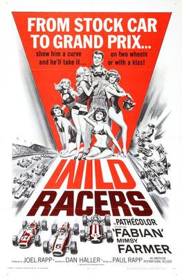 Wild Racers Movie Poster 24x36 - Fame Collectibles