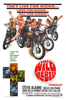 Wild Rebels The Movie Poster 24x36 - Fame Collectibles