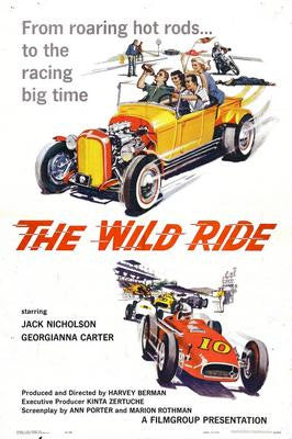 Wild Ride The Movie Poster 24x36 - Fame Collectibles