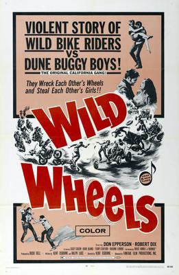 Wild Wheels Movie Poster 24x36 - Fame Collectibles