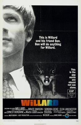 Willard Movie Poster 24x36 - Fame Collectibles