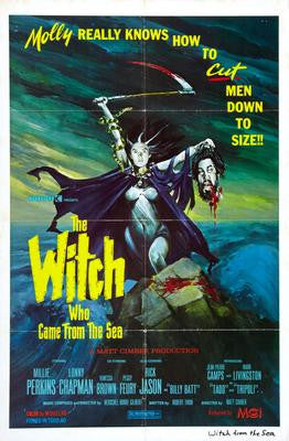 Witch Who Came From The Sea The Movie Poster 24x36 - Fame Collectibles